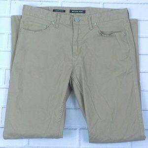 Michael Kors Parker Slim Fit Casual Pants Sz 30X30